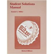 Student Solutions Manual for Introductory Algebra for College Students