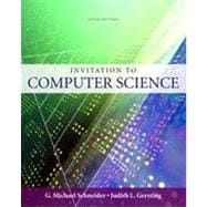 Invitation to Computer Science, 5th Edition