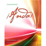 ¡Anda! Curso elemental Plus MySpanishLab with eText (multi semester access) -- Access Card Package