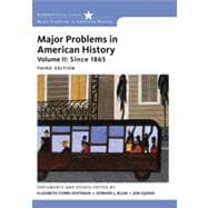 Major Problems in American History, Volume II, 3rd Edition