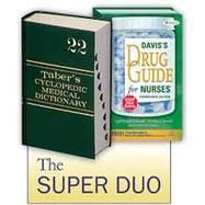 Super Duo: Taber's Medical Dictionary 22nd and Davis's Drug Guide 14th