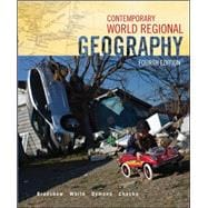 Combo: Contemporary World Regional Geography with Connect Access Card