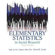Elementary Statistics in Social Research Plus MySearchLab with Pearson eText -- Access Card Package