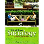 Principles of Sociology Canadian Perspectives