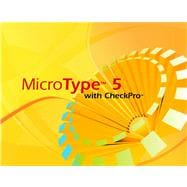MicroType 5 with CheckPro Windows Network Site License CD-ROM for Century 21 Computer Applications and Keyboarding (with Quick Start Guide)