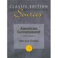 Classic Edition Sources: American Government