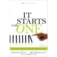 It Starts with One : Changing Individuals Changes Organizations