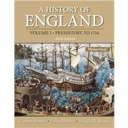 History of England, A , Volume 1 (Prehistory to 1714) Plus MySearchLab with eText -- Access Card Package