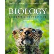 Biology: Concepts and Connections with mybiology™