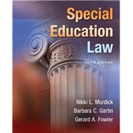 Special Education Law, Loose-Leaf Version with Pearson eText -- Access Card