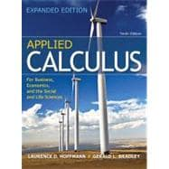 Combo: Applied Calculus for Business, Economics, and the Social & Life Sciences, Expanded with ALEKS Prep Access Card