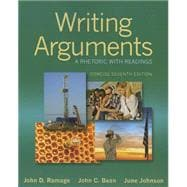 Writing Arguments A Rhetoric with Readings, Concise Edition Plus MyWritingLab with eText -- Access Card Package