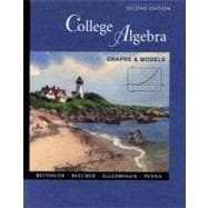 College Algebra: Graphs and Models with Graphing Calculator Manual