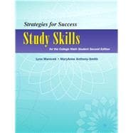Strategies For Success Study Skills for the College Math Student