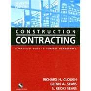Construction Contracting : A Practical Guide to Company Management