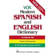 Vox Modern Spanish and English Dictionary (Vinyl cover)