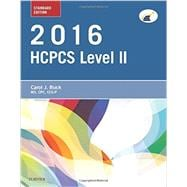 HCPCS Level II 2016, Standard Edition 9780323389891R