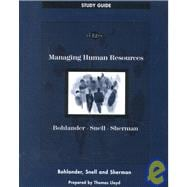 Study Guide for Managing Human Resources