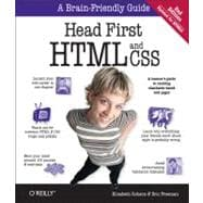 Head First HTML with CSS