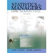 Statistics for Managers Using Excel and Student CD Package
