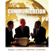 Business and Professional Communication in the Global Workplace, 3rd Edition