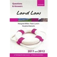 Q and A Land Law 2011 and 2012