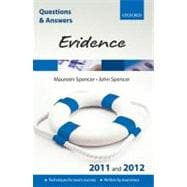 Q & A Evidence 2011 and 2012