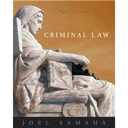 Criminal Law (with CD-ROM and InfoTrac)