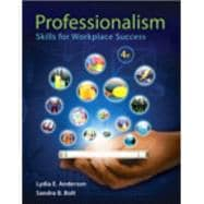Professionalism Skills for Workplace Success Plus NEW MyStudent SuccessLab with Pearson eText -- Access Card Package