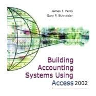 Building Accounting Systems Using Access 2002