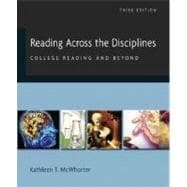 Reading Across the Disciplines: College Reading and Beyond (book alone)