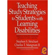 Teaching Study Strategies to Students with Learning Disabilities