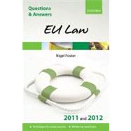 Q and A Eu Law 2011 and 2012