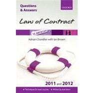 Q & A Law of Contract 2011 and 2012