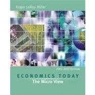 Economics Today : The Micro View, 2001-2002 w/ Economics in Action Version 2