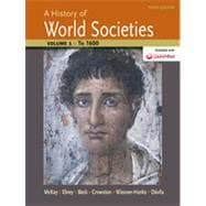 A History of World Societies, Volume 1 to 1600
