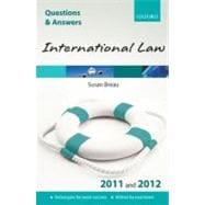 Q and A International Law 2011 and 2012