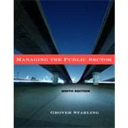 Managing the Public Sector, 9th Edition