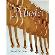 ELEMENTS OF MUSIC & AUDIO CD PKG, 2/e