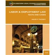 Labor and Employment Law: Text & Cases, 14th Edition