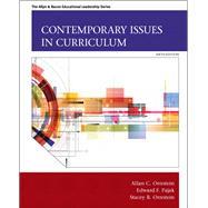 Contemporary Issues in Curriculum