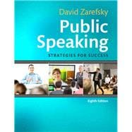 Public Speaking Strategies for Success Plus NEW MyCommunicationLab for Public Speaking -- Access Card Package