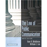 Law of Public Communication Plus MySearchLab with eText -- Access Card Package