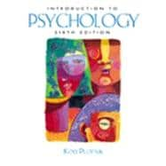 Introduction To Psychology W/ Infotrac, Paper Ed