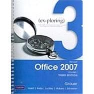 Exploring Microsoft Office 2007 Vol. 1, 3rd Ed with MyITLab Student Access Code