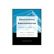 Educational Administration : Concepts and Practices