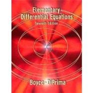 Elementary Differential Equations, 7th Edition