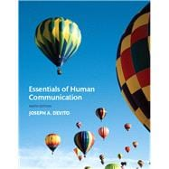 Essentials of Human Communication Plus NEW MyCommunication Lab for Communication -- Access Card Package