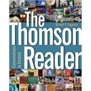 The Thomson Reader Conversations in Context (with Comp21: Composition in the 21st Century CD-ROM)