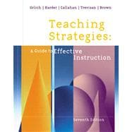 Teaching Strategies A Guide to Effective Instruction